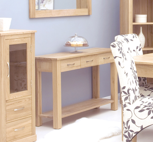 mobel oak console table. Mobel Oak Console Table 3
